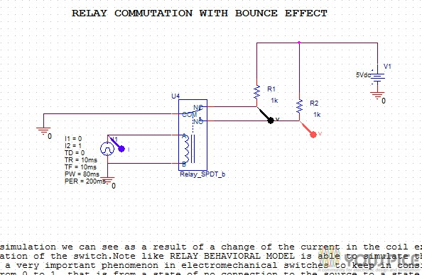 relays spice simulation youspice rh youspice com electromechanical relay simulator Joseph Henry Electric Relay