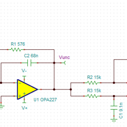 1KHz Low Pass Filter with All Pass Group Delay Correction Filter