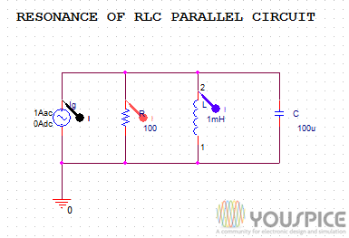 resonant circuits spice projects youspice spice simulation community rh youspice com
