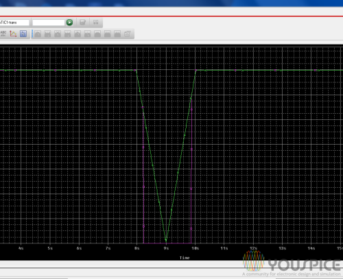 voltage battery green line and voltage load