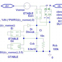 Subcircuit schematic 125A cb