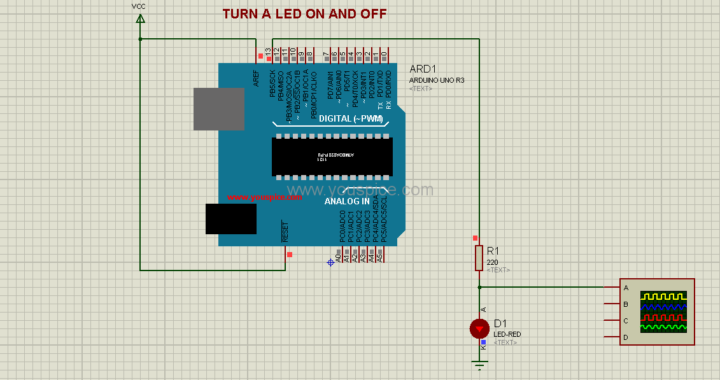 Arduino Simulation Projects using Arduino Simulation Library Models ...