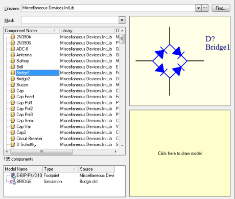 Pspice library for multisim
