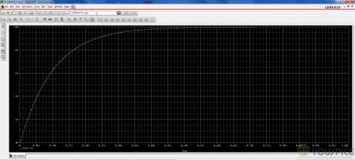 Step Voltage with lower capacitance