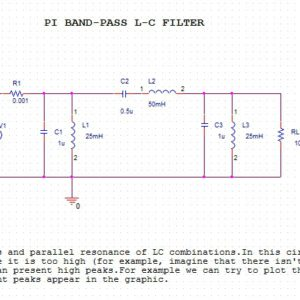 Variable Band Pass filter with potentiometer - YouSpice