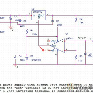 Regulated Power Supplies SPICE Projects - YouSpice, SPICE