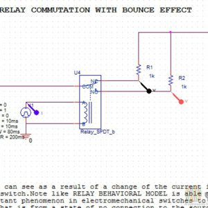 relay models youspicerelays spice simulation