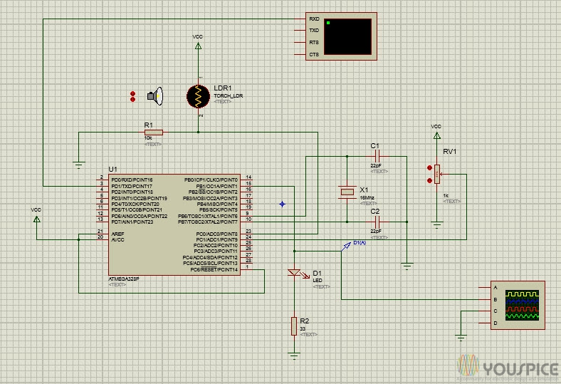 PID Simulation with Arduino - YouSpice