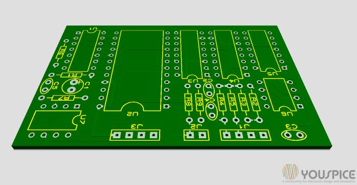 board without components