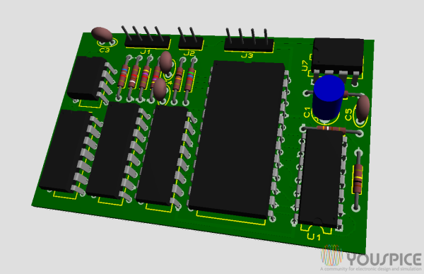 board 3d view
