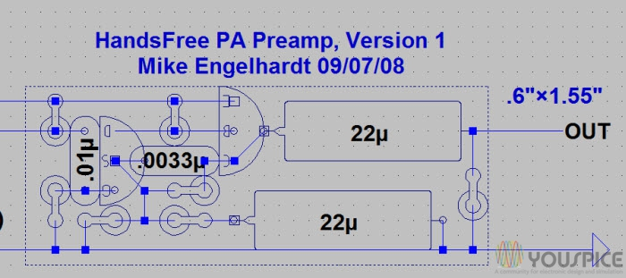 preamp layout