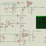 schematic of the analog circuitry