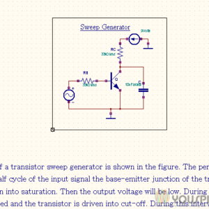 ring oscillator with odd number of cmos inverters youspicesweep generator with transistor npn