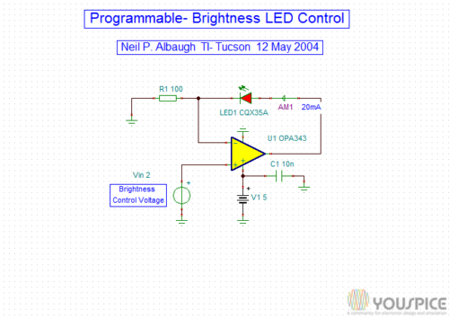 20 mA led current