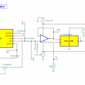 FSK Modulator with XR2206 - YouSpice