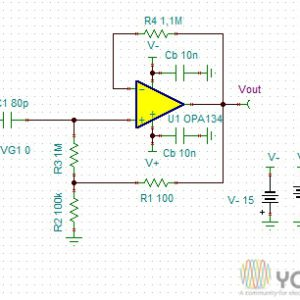 Detailed Model of LM741 Operational Amplifier - YouSpice