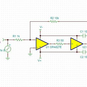 OPA1632 High Performance Audio Operational Amplifier - YouSpice