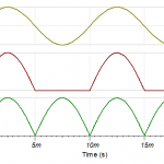 Input first output and final output voltages