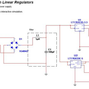 Linear Regulated power supplies part 2 - YouSpice