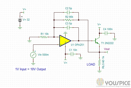 10mA 0 10V DAC Circuit - Youe Dac Schematic on