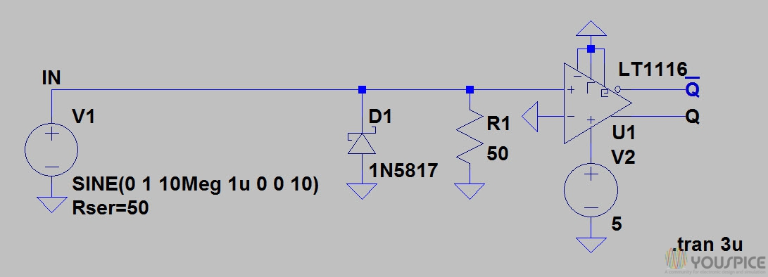 zero-crossing detector  🔍  output and complementary output