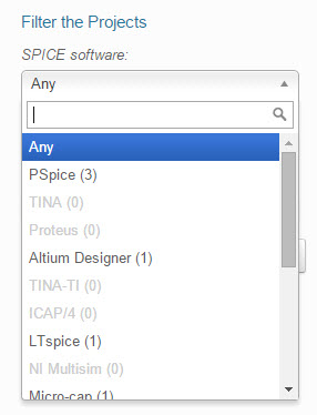 select spice software
