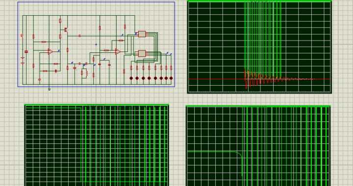 SPICE simulation with Proteus of a Coils Tester  - YouSpice