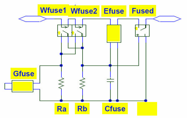 Fuse Model For Over-Current Protection Simulation of DC